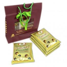 Satvik Organic Herbal Gulal - Cock Brand