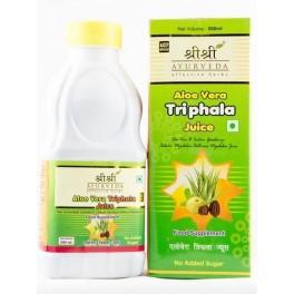 Sri Sri Medicine Herbal Juice - Aloevera Triphala