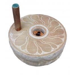 Hand Operated Atta Chakki - White Stone(12 inch)