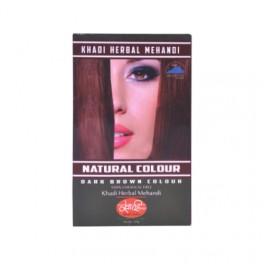 Khadi Hair Colour Mehndi - Dark Brown 100g