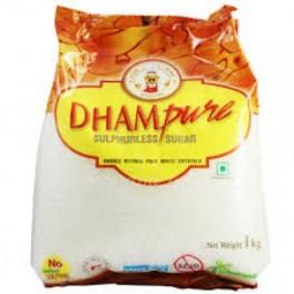 Dhampure White Sulphurless Sugar 1kg