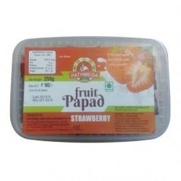 Pathmeda Fruit Papad Strawberry