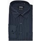 Cantabil Mens Formal Shirt Corporate Wear (Black, 38)