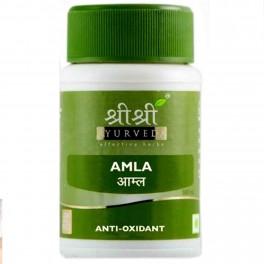 Sri Sri Ayurveda Amla Tablet.