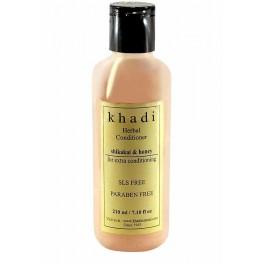 Khadi Hair Conditioner - Natural Shikakai & Honey (SLS & Paraben Free)