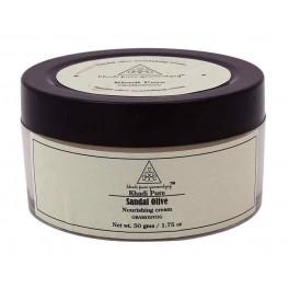 Khadi Sandal Olive Nourishing Cream