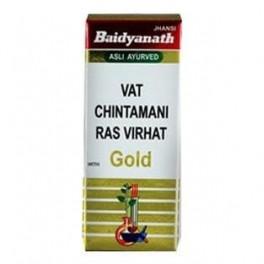 Baidyanath Vat Chintamani Ras Brihat - Gold 10tab