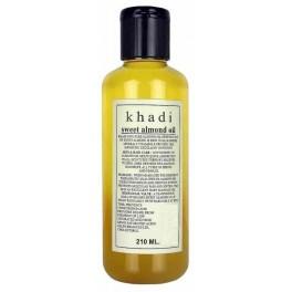 Khadi Herbal Oil - Almond (Khadi Pure) 210ml