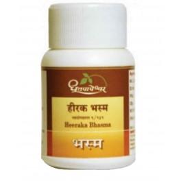 Dhootapapeshwar Heeraka Bhasma