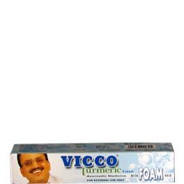 Vicco Turmeric With Foam Base Cream