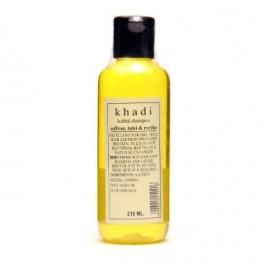 Khadi Hair Shampoo - Saffron,Tulsi & Reetha